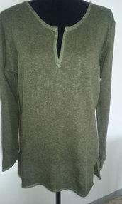 maglia donna lino cotone