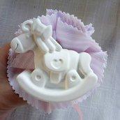 Bomboniere - Gessetti profumati cavallo a dondolo