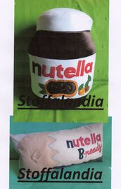OFFERTA NATALE 2 CUSCINI NUTELLA IDEA REGALO