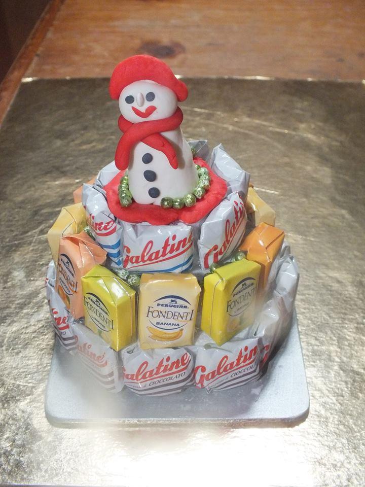 alzatina con cioccolatini o caramelle - Feste - Natale ...