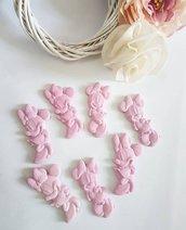 100 pezzi minnie rosa