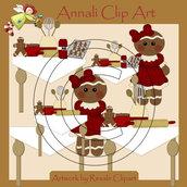 Clip Art per Decoupage e Scrapbooking - Ginger Cucina - IMMAGINI
