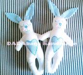 Coniglietto - Pupazzo in stoffa