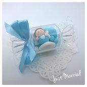confettata a caramella,nascita,battesimo,confetti decorati