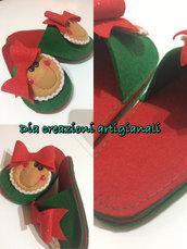 Pantofole natalizie  ginger