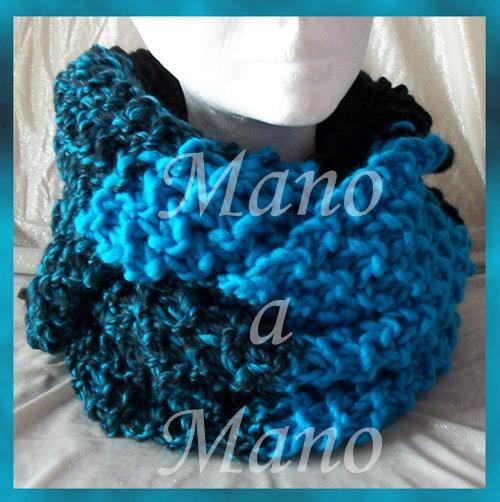 Scaldacollo - Nero e azzurro