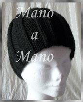 Cappello a cuffia - Nero