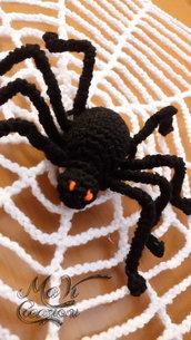 Ragnatela e ragno per Halloween