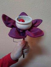 Un bilboquet fiorito