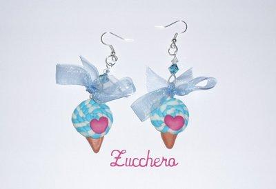 Orecchini Fimo/Cernit Leccalecca