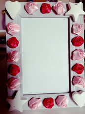 Cornice elegante rose
