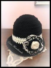Cappellino Modello Cloche