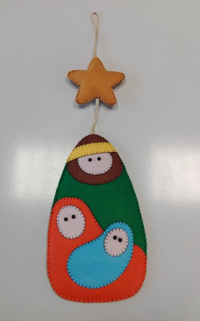 Molto PRESEPE DA APPENDERE - Feste - Natale - di Lilli Lab | su MissHobby YW54