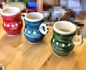 Tazze Da té, in ceramica su ordinazione, vari colori