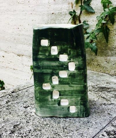 Lampada di ceramica fatta a mano