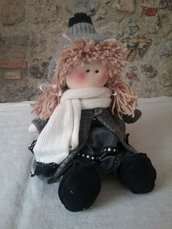 Bambola in stoffa