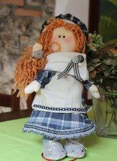 Bambola in stoffa da collezione