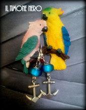 "Orecchini ""Charm Jolly Roger"""