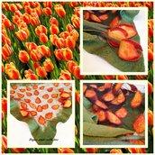 Bactus Coprispalle Tulipani Rossi Gialli