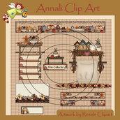 Web set - Set Grafico per Sito Web - Ginger in the Kitchen