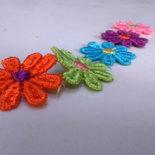 Passamaneria Macramè multicolor h. 25 mm decorazione