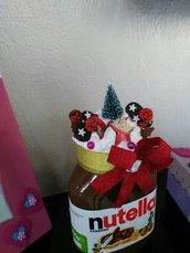 Nutella decorato tema Natale