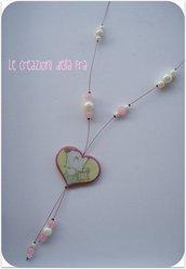 Collana Spank-cuore rosa (2)