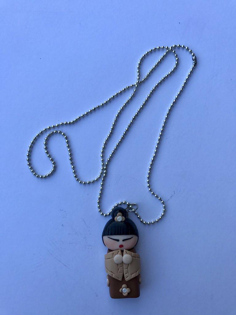 collana GEISHA realizzata in FIMO!