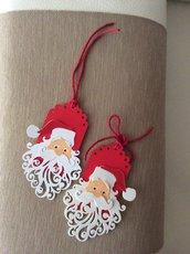Due chiudipacco papà Natale