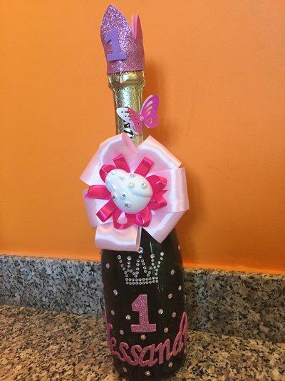Bottiglia spumante personalizzata