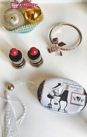 cesto 5 regali artigianali Christmas basket riciclo creativo