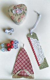 Cesto 5 regali Natale riciclo creativo Christmas basket