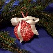 Pallina di Natale Intreccio di Luce