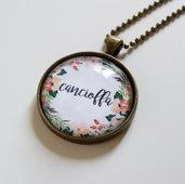Collana floreale Cancioffa