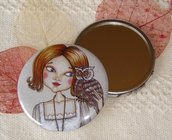 Specchietto-Tell me your secret-pocket mirror 2.25 inch (5.6cm)