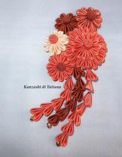 Tsumami kanzashi tradizionale 14