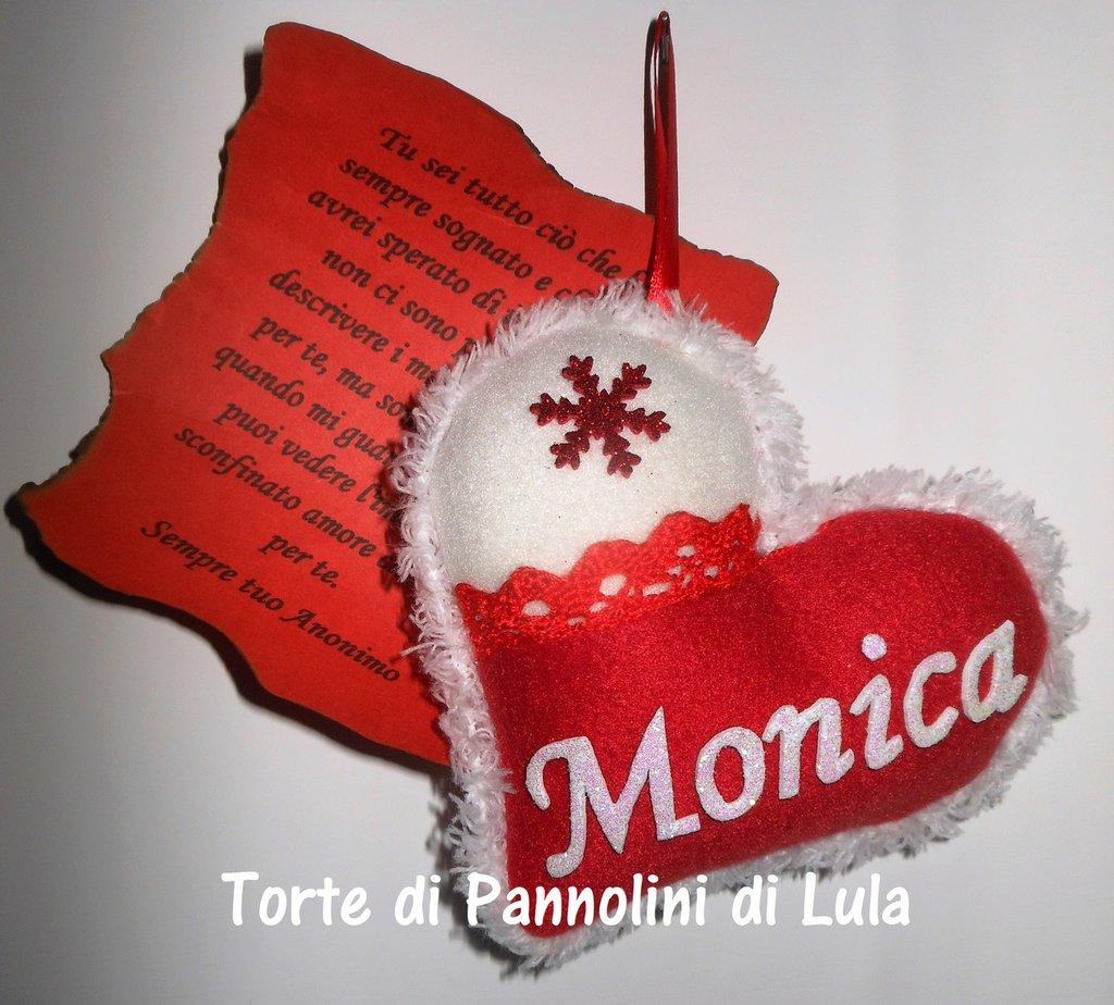 Decorazioni Lettere D Amore idea regalo natale san valentino cuore imbottito + nome + lettera  d'amore!!. idea regalo romantica