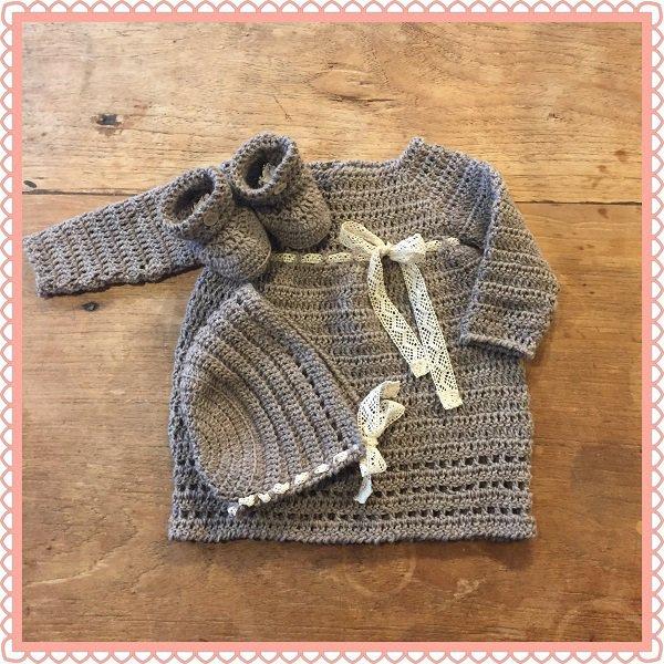 completino neonata uncinetto