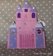 Porta pigiama castello principesse