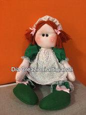 Carinissima bambola verde