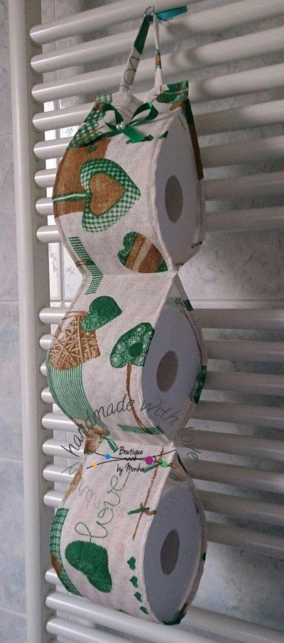 Extrêmement Portarotolo di carta igienica di scorta verde - Per la casa e per  SV73