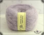 Filato Mohair, 1 gomitolo  50 grammi - colore lilla