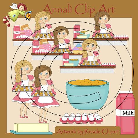 Clip Art per Scrapbooking e Decoupage - Biscotti Sfornati - IMMAGINI
