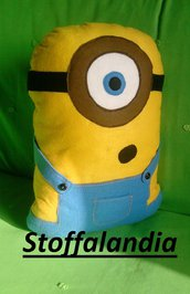 MINIONS CUSCINO IDEA REGALO