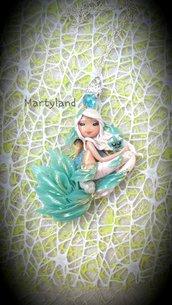 Sirena albina celeste