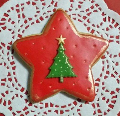 biscotti natalizi segnaposto