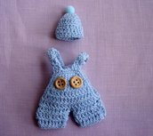Vestitino in miniatura + cappellino
