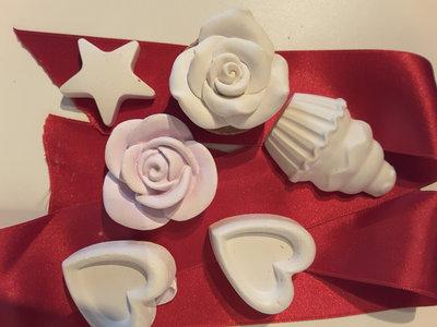 Formine profumate in polvere di ceramica