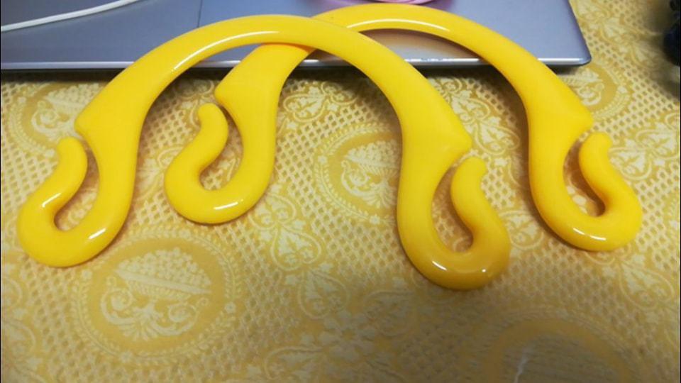 Manici pipioca giallo