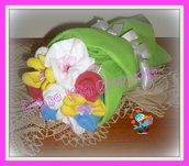 Bouquet originalissimi realizzati con prodotti per la casa